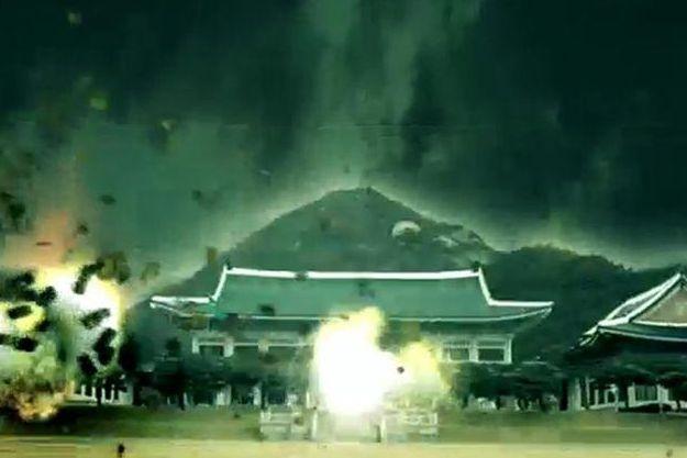 Video mo phong Trieu Tien tan cong Han Quoc hinh anh