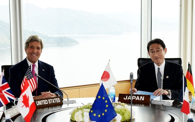 Ngoai truong My den Hiroshima du hoi nghi G7 hinh anh