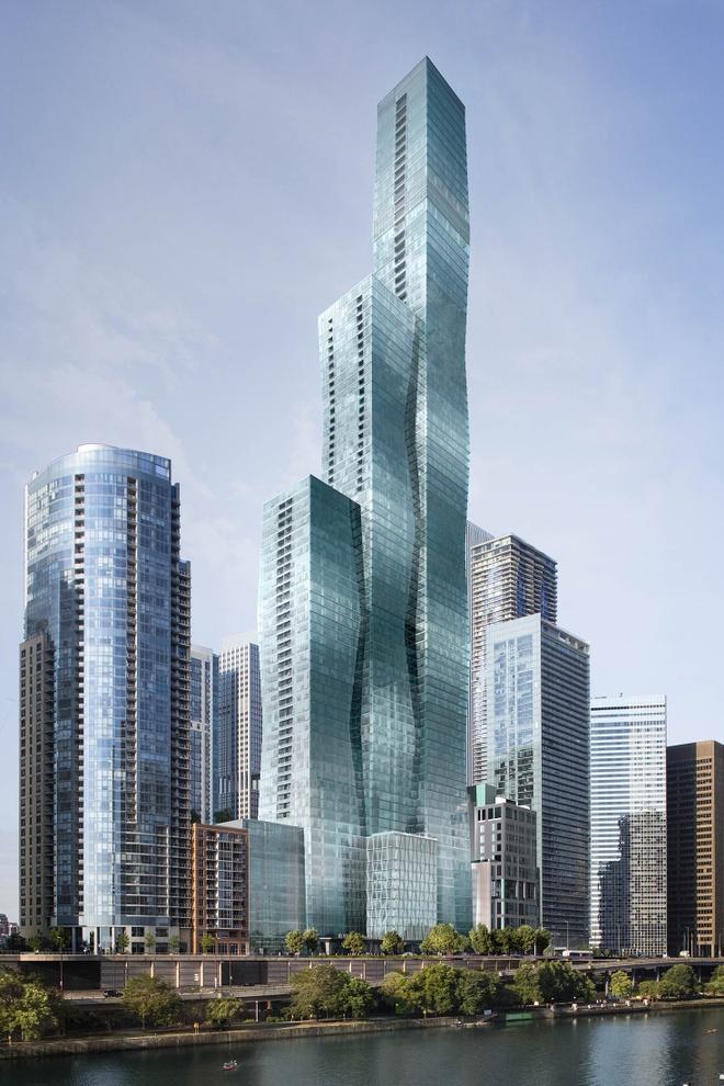 Penthouse chuc trieu do o Chicago cua nguoi giau nhat chau A hinh anh 1