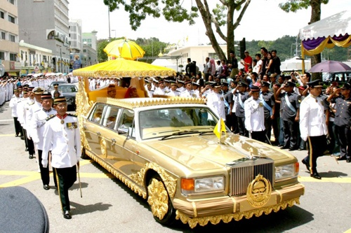 Bo suu tap sieu xe ty do cua quoc vuong Brunei hinh anh