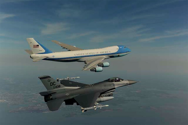 Quy trinh bao ve chuyen co Air Force One cua Obama hinh anh 1