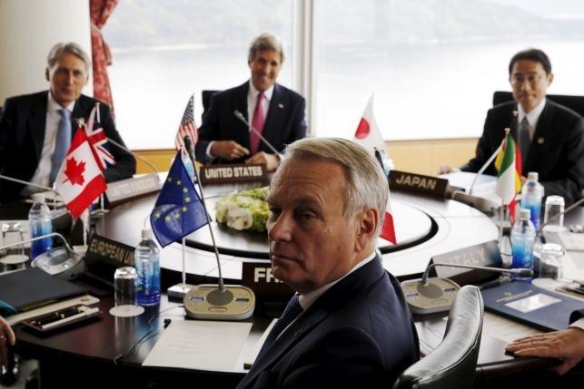 G7 se phan doi hoat dong quan su hoa tren Bien Dong hinh anh 1