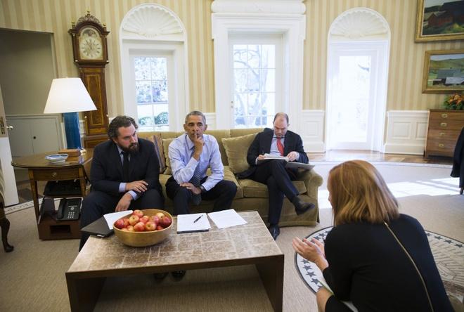 Chan dung nguoi chap but cac bai dien van cho Obama hinh anh 2