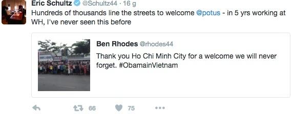 Quan chuc thap tung Obama cam on su chao don cua nguoi Viet hinh anh 2