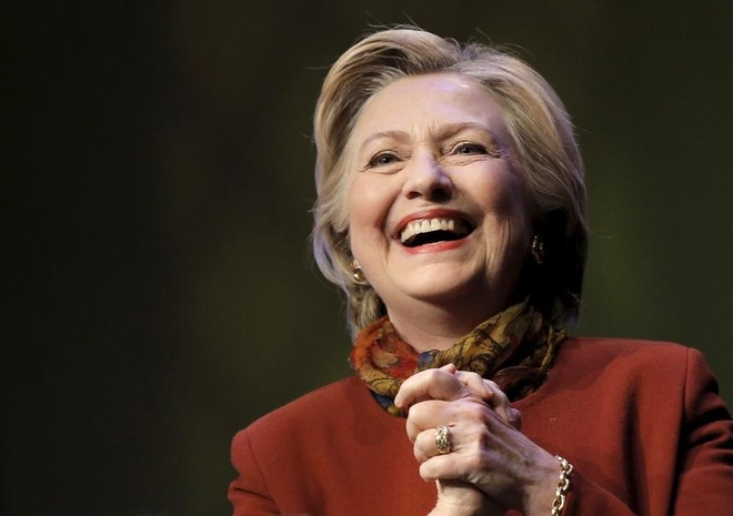 Ba Clinton duoc bau la nguoi phu nu quyen luc thu 2 the gioi hinh anh