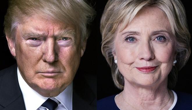 Thieu hut nhan su va tai chinh, Trump lep ve truoc Clinton hinh anh