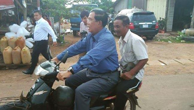 Thu tuong Campuchia bi phat vi khong doi mu bao hiem hinh anh