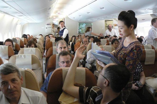 Singapore Airlines moi khach dau thau nang cap hang ghe hinh anh