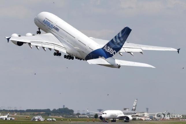 A380 cua Airbus lo bi loi thoi hinh anh