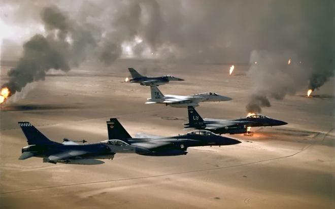 Tiem kich F-15 Eagle cua My anh 9