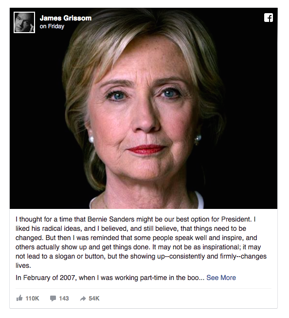 Cau chuyen xuc dong ve long nhan ai cua ba Hillary Clinton hinh anh 1