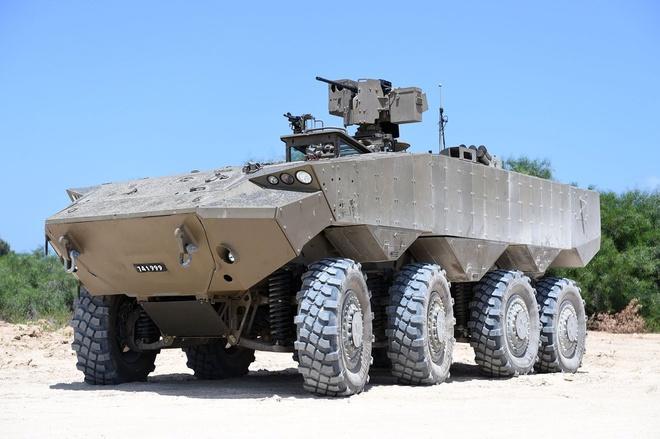 Israel trinh lang xe thiet giap vuot troi M113 hinh anh