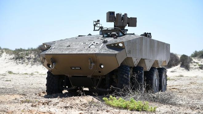 Israel trinh lang xe thiet giap vuot troi M113 hinh anh 1