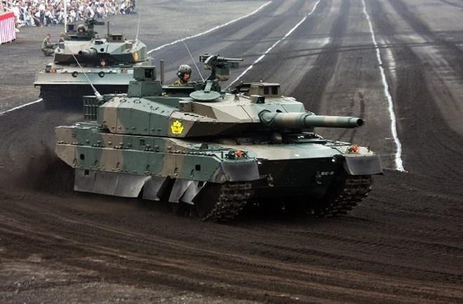 Xe tang Type-10 cua Nhat, hien dai nhung kho xuat khau hinh anh