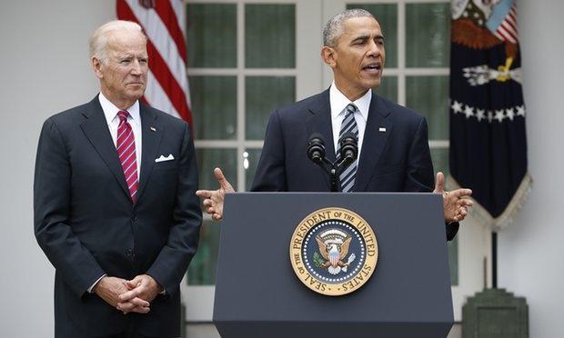 Tong thong Obama hua chuyen giao quyen luc trong hoa binh hinh anh 1