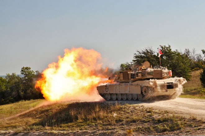 Xe tang M1 Abrams anh 1