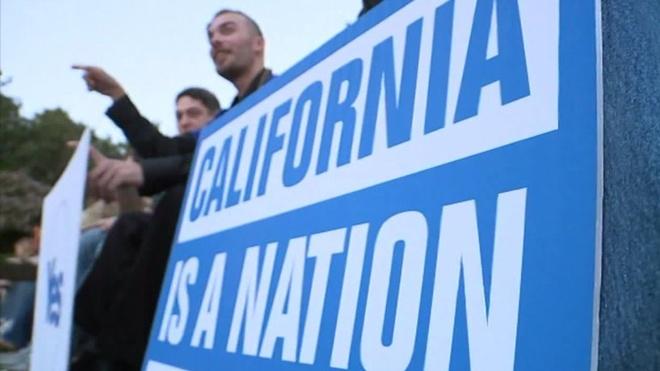 California co the trung cau 'Calexit' ve viec tach khoi My hinh anh