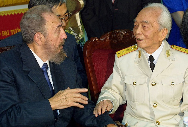 Lanh tu Cuba Fidel Castro tham Viet Nam hinh anh