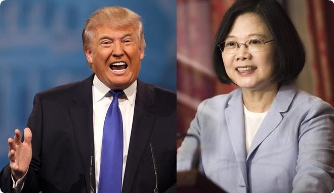 Pha chinh sach ngoai giao, Trump dien dam lanh dao Dai Loan hinh anh