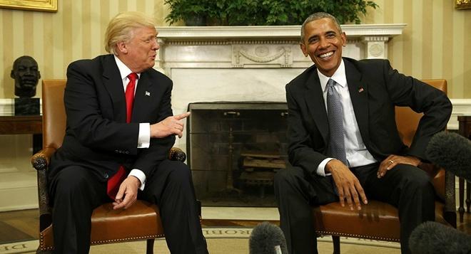 Trump noi thuc su thich Obama anh 1