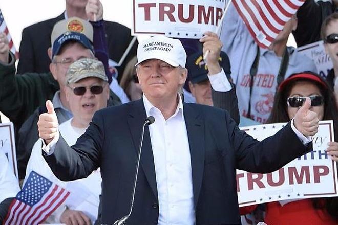 Trump van thang o Wisconsin sau kiem phieu lai hinh anh