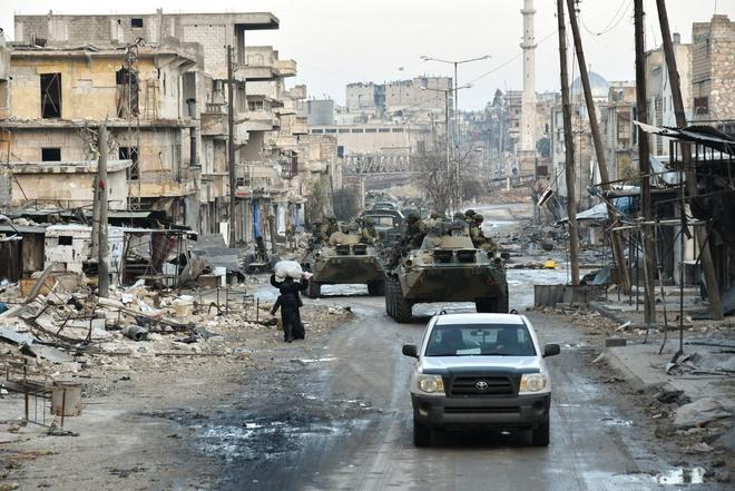 giai phong Aleppo anh 1