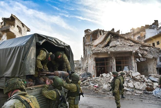 giai phong Aleppo anh 11