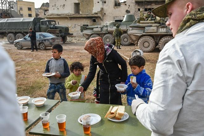 giai phong Aleppo anh 13