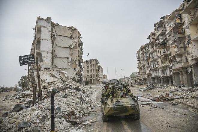 giai phong Aleppo anh 17