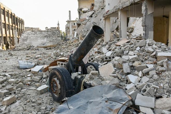 giai phong Aleppo anh 7