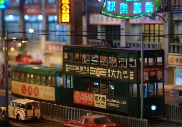 Hong Kong song dong qua ban tay nghe nhan tao tac hinh anh