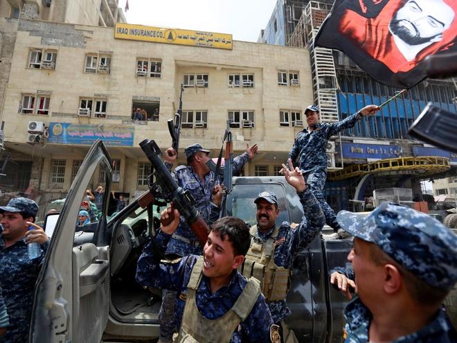 Iraq tuyen bo giai phong Mosul khoi phien quan IS hinh anh