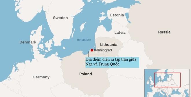 Nga - Trung lan dau tap tran o bien Baltic hinh anh 2