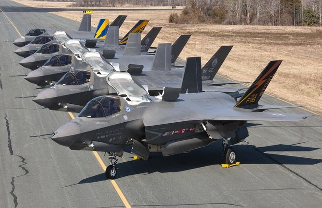 100 tiem kich tang hinh F-35 se ap sat Trieu Tien hinh anh