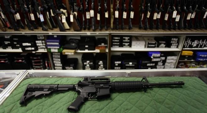 AK-47, AR-15 va nhung vu khi cua sat thu Las Vegas hinh anh