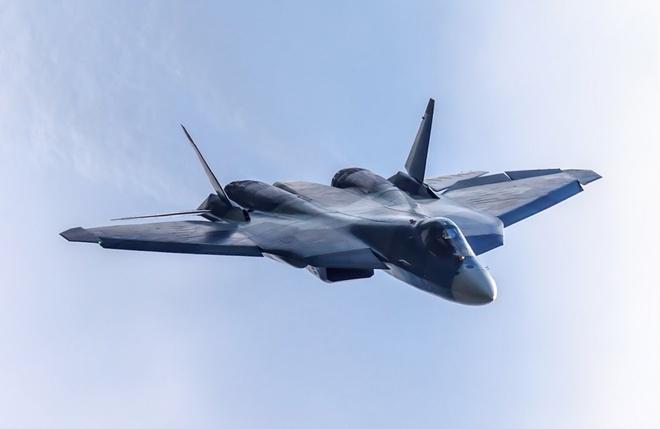 Tiem kich tang hinh Su-57 cua Nga co the qua mat F-22 cua My hinh anh