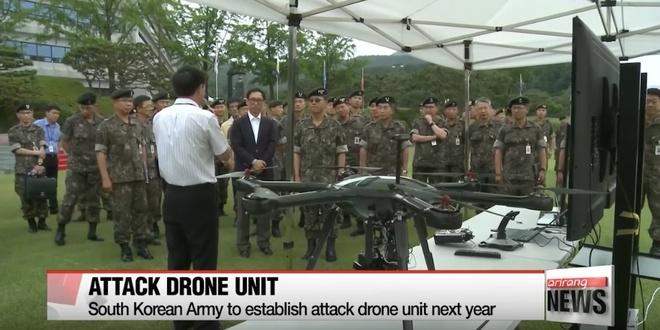 Han Quoc phat trien robot bay de tan cong Trieu Tien hinh anh 1