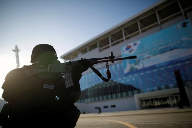 Han Quoc huy dong 60.000 nguoi dam bao an ninh cho Olympics hinh anh