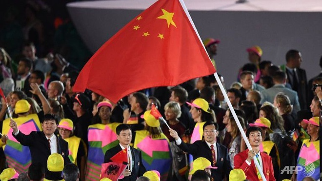 Doan Trung Quoc cam co loi o Olympic Rio 2016 hinh anh