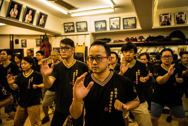 Kungfu Hongkong suy tan anh 1
