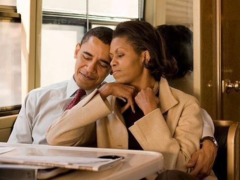 Nhung khoanh khac hanh phuc cua vo chong Tong thong Obama hinh anh