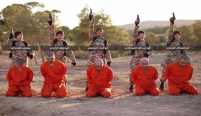 IS tung video binh si nhi hanh quyet tu nhan nguoi Kurd hinh anh