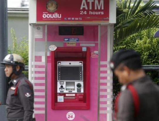 346.000 USD bi rut trom tai cac cay ATM o Thai Lan hinh anh 1
