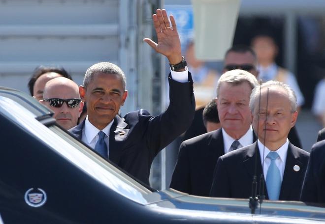 Ong Obama, cac lanh dao quoc te te tuu tai hoi nghi G20 hinh anh