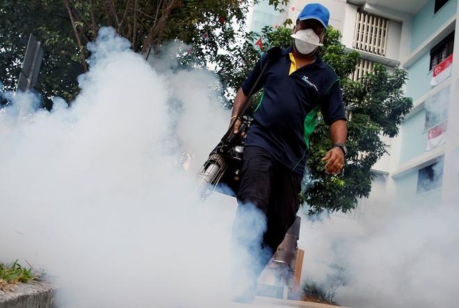 Nhieu nuoc khuyen cao cong dan khong toi Singapore vi Zika hinh anh