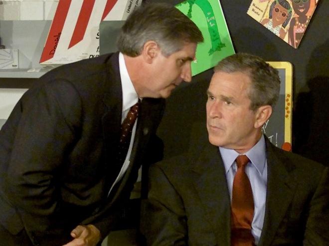 Tong thong Bush da lam gi trong ngay 11/9/2001 hinh anh