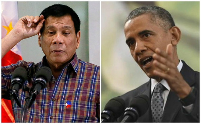 Ong Obama va Duterte tro chuyen sau vu thoa ma hinh anh