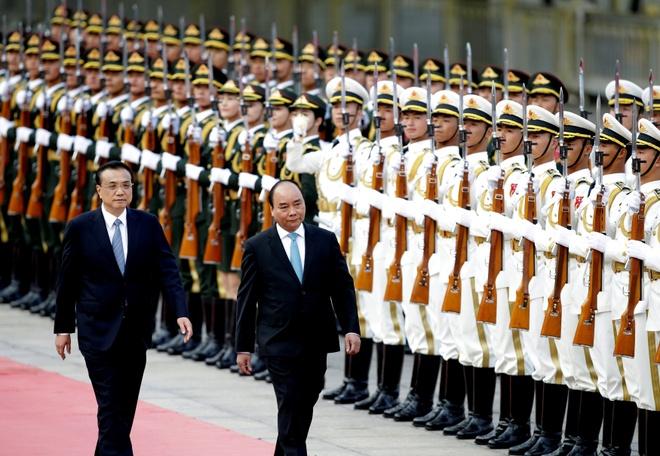 Thu tuong Nguyen Xuan Phuc hoi kien Chu tich TQ Tap Can Binh hinh anh 2