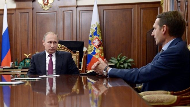 Putin bo nhiem giam doc co quan tinh bao nuoc ngoai hinh anh
