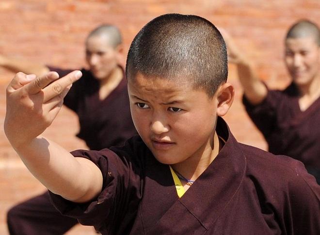 Nhung ni su luyen vo Viet Nam tren day Himalaya hinh anh